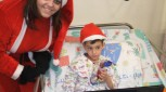 زيارة ميلادية لقسم الاطفال في مستشفى نهاريا