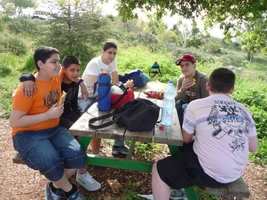 رحلة الاحداث للطبيعة 2011