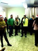 صور احتفال عيد الميلاد لخدمة الاحداث