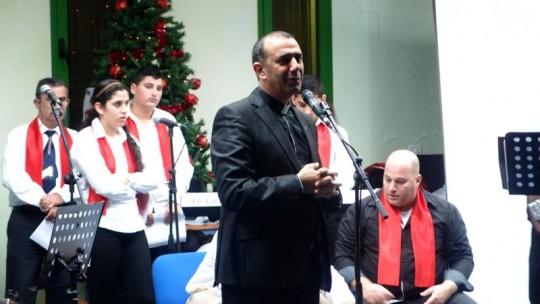 انطلاق الكريسماس ماركت الاول 2014