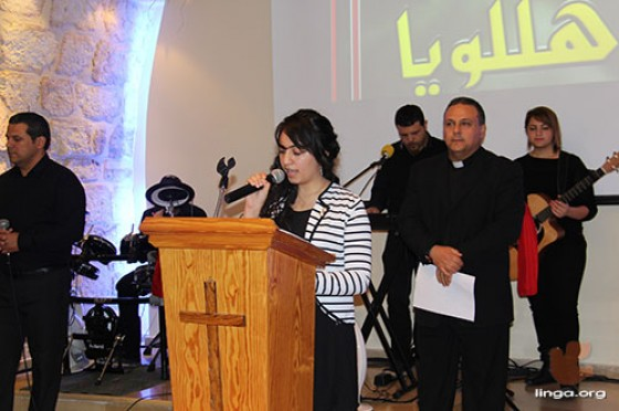 احتفال الميلاد للكنيسة لعام 2014