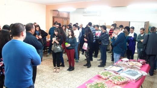 احتفال الميلاد لرابطة الطلاب الجامعيين 2014
