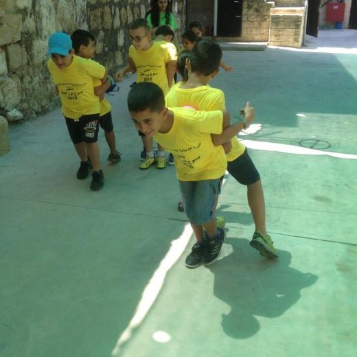 مخيم الصيفي اليوم الاول 23-07-2015