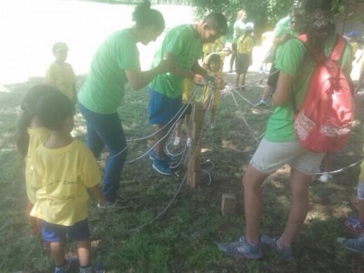 مخيم الصيفي اليوم الثاني 24-07-2015
