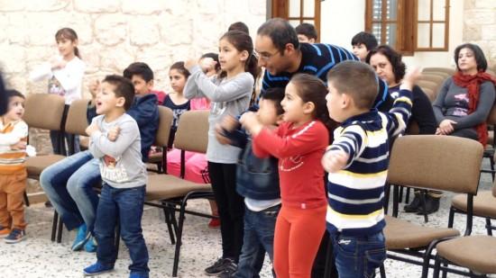 احتفال الفصح لخدمة مدرسة الاحد 2015