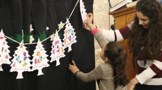 احتفال عيد الميلاد للاطفال 2016
